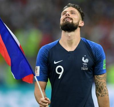 'It's coming home!' - Giroud echoes Pogba in World Cup trolling of England