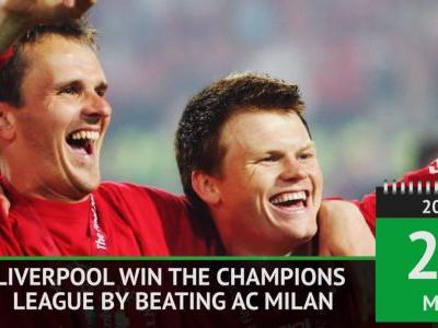 On This Day - Liverpool win 2005 Champions League final