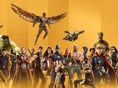 Marvel Celebrates 10 Years of the MCU With a New Website, Glitzy Gold Posters