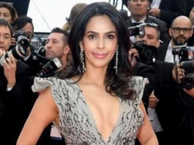 Cannes 2019: Mallika Sherawat in plunging neckline dress will take you back to her naagin days