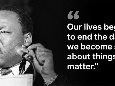 12 inspiring quotes from Martin Luther King Jr