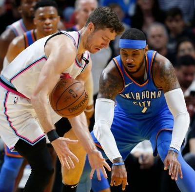 OKC's Anthony embraces supporting role heading into playoffs