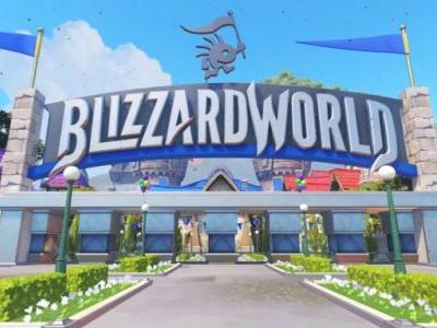 Overwatch's Blizzard World map is live with a bunch of new skins