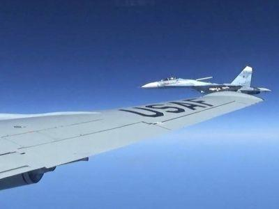 Air Force releases photos showing Russia's 'unsafe' intercept of US plane
