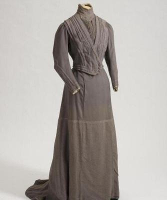 Mourning Dress of Maria Feodorovnac.1910 State Hermitage Museum