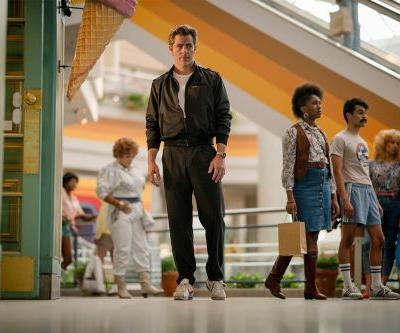 Chris Pine Gets a Glorious '80s Makeover in the First Photo From Wonder Woman 2