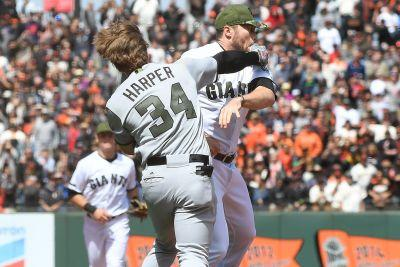 MLB hands out punishments for Bryce Harper brawl