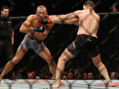 Photos: UFC 217 Georges St-Pierre defeats Michael Bisping