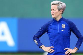 Breaking down Megan Rapinoe starting on the bench for the United States vs. England