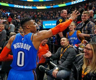 'I'll 'f-k you up': Westbrook lashes out at heckling Jazz fan