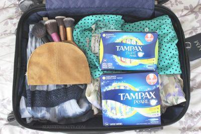 Traveling On Your Period: What to Pack