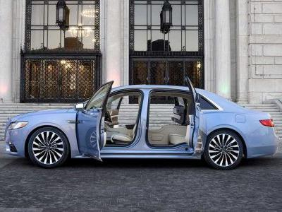 There's Now A 2019 Lincoln Continental With Suicide Doors