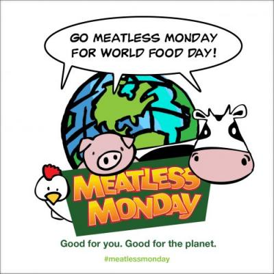 Celebrate World Food Day by Going Meatless Monday and Eating Local