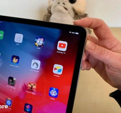 No Home button on iPad Pro means a new way to take a screenshot