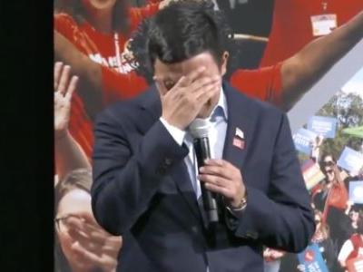 Andrew Yang Brought To Tears By Grieving Mom's Question About Gun Violence