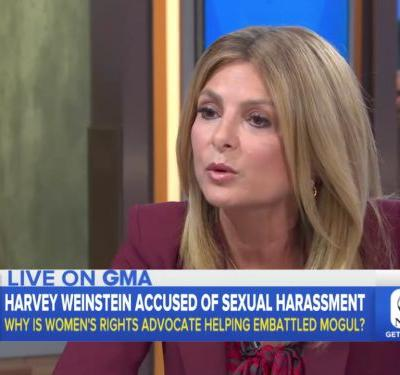 Attorney Lisa Bloom says of working with Harvey Weinstein: I've always wanted to 'get on the other side and smack that guy around a little bit, verbally'