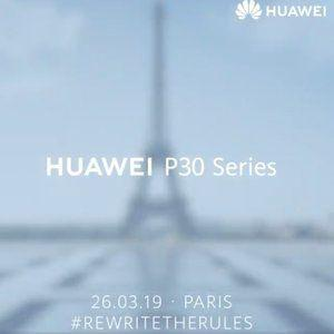 Huawei P30 'series' announcement event is officially scheduled for March 26