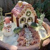 Charcuterie Chalets - Complete With Parmesan Snow - Are the New Gingerbread Houses