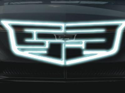 Let's Look at The New Logo on Cadillac's First Electric Vehicle