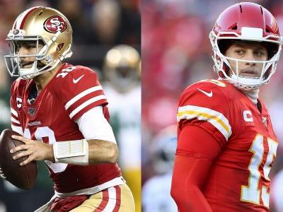 Did this NFL Christmas graphic predict the 49ers and Chiefs would be in the Super Bowl?