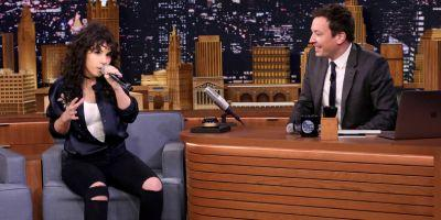 """Watch Alessia Cara Impersonate Lorde on """"Fallon"""""""