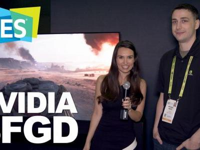 CES 2019: Up close with NVIDIA's massive BFGD display