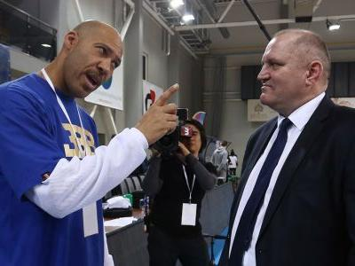 LaVar Ball served as an assistant coach for his sons' Lithuanian club team in the Big Baller Brand Challenge Games