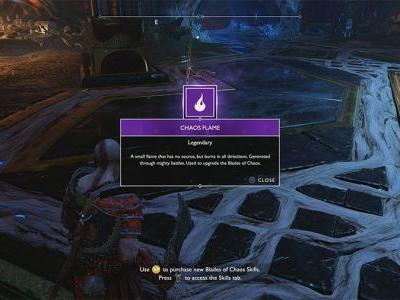 Where To Find Chaos Flames In God Of War