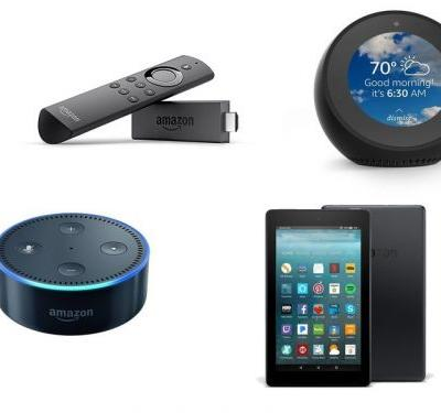 Amazon has big discounts on its Echo, Kindle, and Fire hardware for a limited time