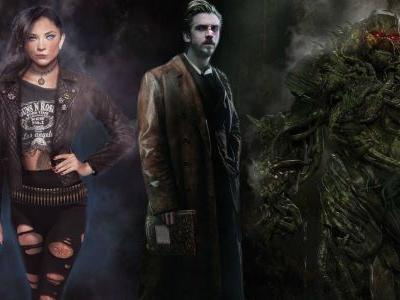 Justice League Dark Concept Art Features Swamp Thing & Constantine
