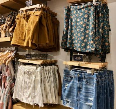 We went shopping at American Eagle Outfitters and Hollister to see which teen-centric store offered a better experience - and the winner was clear