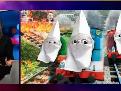 NRA TV host slams diversity push on children's show, puts KKK hoods over 'Thomas & Friends'