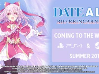 Date A Live: Rio Reincarnation Headed West in Summer 2019 for PS4, Steam