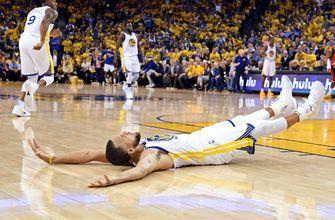PHOTOS: Warriors crush Rockets by 41, take 2-1 series lead with 126-85 win