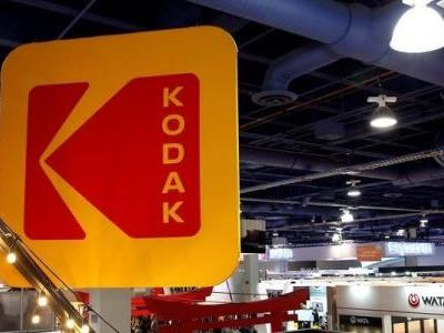 Kodak surged 200% to a 30-month high after securing a $765 million government loan to make drug ingredients