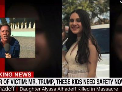 'What can you do?': Mother of 15-year-old Parkland shooting victim demands action from Trump