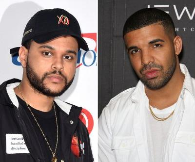 The Weeknd appears to go after Drake on 'Lost in the Fire'