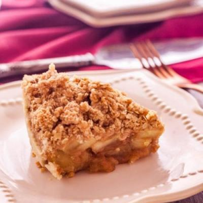 Easy Apple Crumble Pie