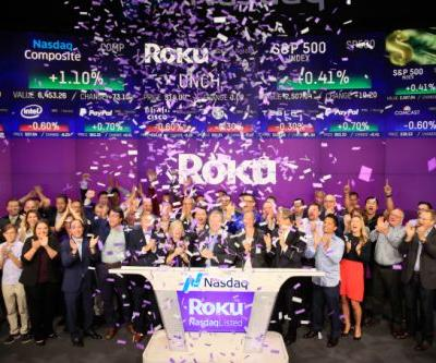 Roku surges 30% in stock market debut