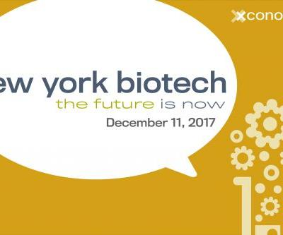 Announcing New York Biotech: The Future is Now on Dec. 11