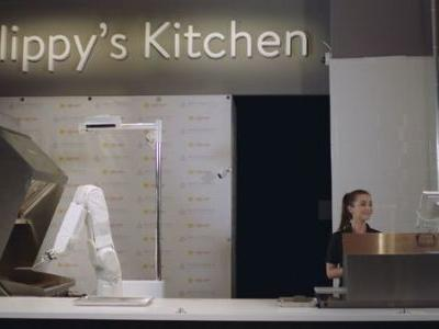 'Flippy' The Fast Food Robot Mans The Grill At Caliburger