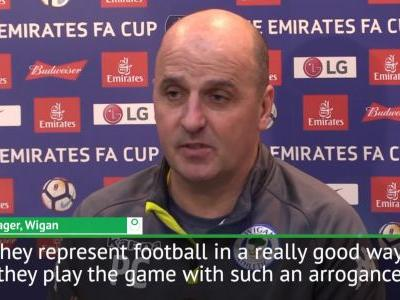 Wigan had to believe they could beat 'arrogant' Man City - Cook