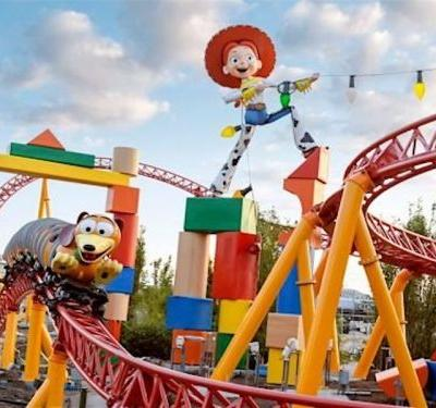Disney just gave us a first look at the new 'Toy Story Land' at night - and we're booking our vacation ASAP