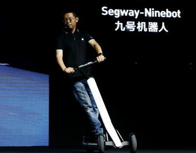 Chinese firm unveils electric scooters that can drive themselves to charging stations