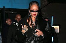 See Rihanna's Chic, All-Black Ensemble at Fenty Afterparty in London