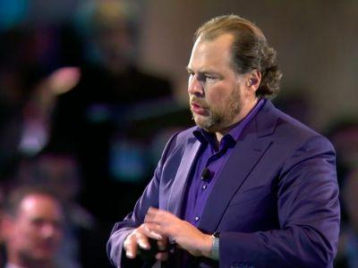 Salesforce CEO Marc Benioff sees a huge sales opportunity under Trump's administration