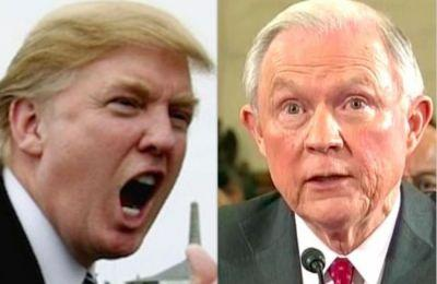Trump Explodes At Jeff Sessions: 'Very Weak Position on Hillary Clinton Crimes'