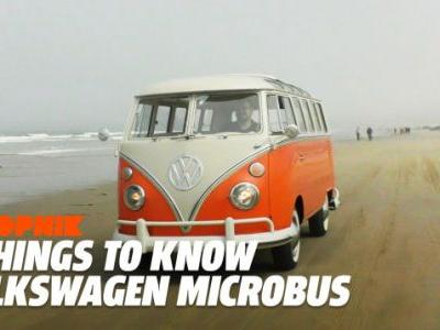 Five Things You Should Know About the Iconic Volkswagen Microbus