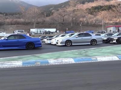 Heaven Is Real, And It's This Huge Nissan Skyline Meet