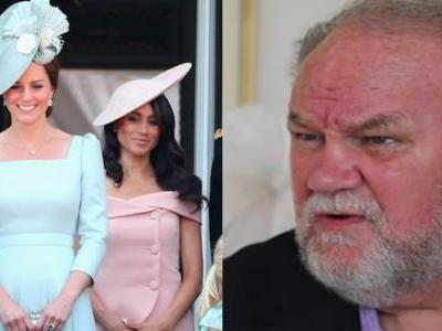 Thomas Markle's Advice To Meghan About The Rumored Kate Middleton Drama Is Off Base